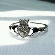 Outgrown yet another claddagh, need to remember to look for a new one.