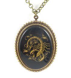 Astrology Necklace Astrology JewelryScorpio by TashaHusseyDesigns, $42.00