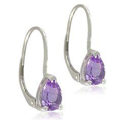 Sterling Silver Pear-Shaped 5x8mm Amethyst Lever Back Earrings Amazon Curated Collection, http://www.amazon.com/dp/B0052ILEN2/ref=cm_sw_r_pi_dp_-LEgrb1QDF5TB