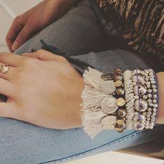 Beaded Bracelets, How To Wear, Jewelry, Fashion, Jewlery, Moda, Jewels, La Mode, Jewerly