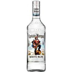 Captain Morgan White Rum - Erfrischender White Rum für Summer Cocktails  Geschenkideen mit Captain Morgan White Rum gibt es bei http://www.dona-glassy.de/Themengeschenksets/Geschenksets-Captain-Morgan:::24_2.html