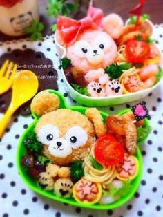 Sherry Mae and Duffy bento
