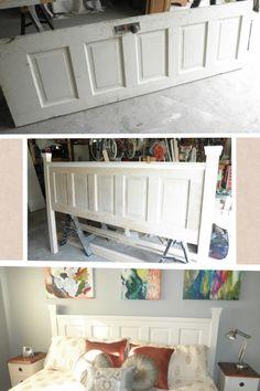 Ideas diy furniture headboard old doors for 2019 Furniture Projects, Diy Furniture, Rustic Furniture, Furniture Design, Antique Furniture, Diy Projects, Furniture Cleaning, Outdoor Furniture, Furniture Online