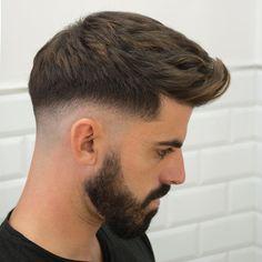 Types of Fade Haircuts 2020 Mens Hairstyles Haircuts & Colors Ideas Fade Haircut Curly Hair, Medium Fade Haircut, Drop Fade Haircut, Wavy Hair Men, Medium Hair Cuts, Best Fade Haircuts, Fade Haircut Styles, Types Of Fade Haircut, Short Layered Haircuts