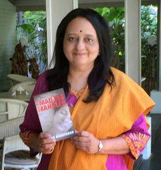 #AuthorInterview Usha Narayanan, the #Author of The Madras Mangler..  #DebutAuthor #Mystery #Suspense #Thriller