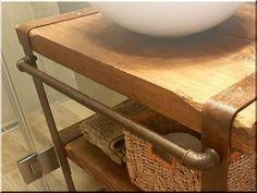 industrial loft design, ipari loft bútor, loft bútor, loft l Furniture, Industrial Loft, Rustic Furniture, Loft Design, Entryway Tables, Home Decor, Vintage Designs, Antik, Vintage