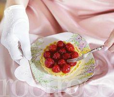 Franse vrugtetertjies   rooi rose