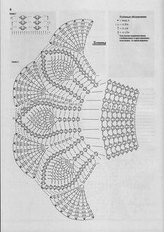 Crochet Umbrellas Archives - Beautiful C - Diy Crafts - DIY & Crafts Crochet Skirt Pattern, Crochet Doll Dress, Crochet Skirts, Crochet Baby Clothes, Thread Crochet, Crochet Doilies, Crochet Stitches, Knitting Patterns, Crochet Patterns