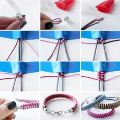 Fishtail Braid Bracelet - 13 Wonderful DIY Jewelry Crafts by pam Fishtail Bracelet, Braided Bracelets, Friendship Bracelets, Diy Bracelet, Bracelet Tutorial, Zipper Bracelet, Wire Bracelets, Strand Bracelet, I Spy Diy
