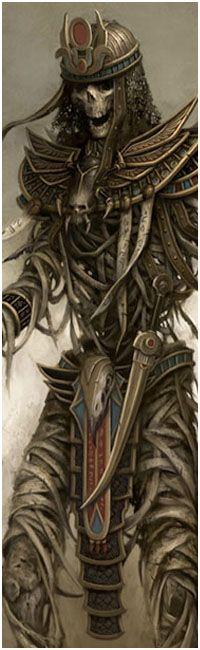 The Art of Daarken.  I love the Egyptian undead convept