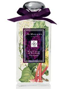 White Lilac & Rhubarb Jo Malone perfume - a new fragrance for women 2012