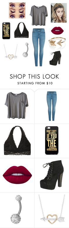 """Random #13"" by dancelover5683 ❤ liked on Polyvore featuring Clu, Victoria's Secret, Lime Crime, Breckelle's, H Star and EF Collection"