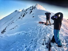 Skiing Tin Can! Jeremy I. at Turnagain Pass, Chugach National Forest, Alaska 99631, USA. #rei1440project
