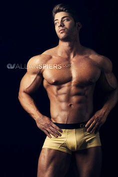 Alex Davis by Allan Spiers Pat Lee, Alex Davis, Fitness Models, Brief Encounter, Almost Perfect, Male Physique, Muscle Men, Male Body, Hot Boys