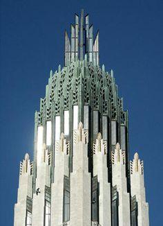 Boston Avenue United Methodist Church, located in downtown Tulsa, Oklahoma.