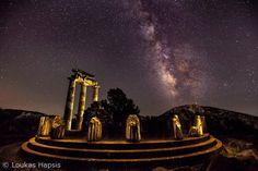 Delphi- Tholos of the sanctuary of Athena Pronaia