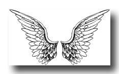 Tattoo tatoeage angel wings black and white Zentangle, Png Tumblr, Art Kawaii, Wing Tattoo Designs, Overlays Picsart, Pics Art, Angel Wings, Art Drawings, Stickers