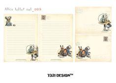 ART DECO 7321 レターセットE 封筒-縦16cm×横12cm、便箋-縦21cm× 横15cm