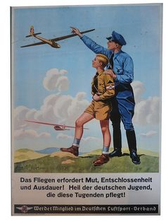 German  Aviation Recruiting Poster