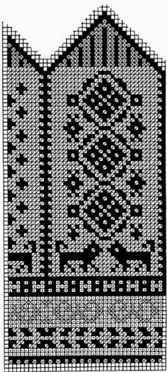 Схемы для варежек спицами