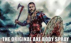 """""""axe"""" body spray"""