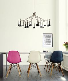 Eames-Chairs-via-Delightful-Lighting