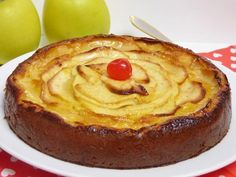 Tarta de manzana Sin Gluten, Catering, Sweet Tooth, Cheesecake, Deserts, Food And Drink, Pudding, Pie, Tasty