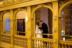 A repost of a wedding at Fairmont Olympic Hotel.