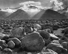 Mount Williamson - Clearing Storm. owens valley, ca. Ansel Adams Photography, Photography Photos, Straight Photography, Classy Photography, Fire Photography, School Photography, Stunning Photography, Inspiring Photography, Outdoor Photography