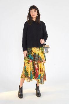 HIGH NECK SWEATER – Farm Rio Mock Neck, Farm Rio, Lace Skirt, Bohemian, Wool, Long Sleeve, Skirts, Sweaters, How To Wear
