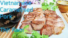 Vietnamese caramelised pork recipe