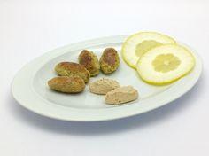 Un secondo leggero, gustoso e senza glutine:  http://stellasenzaglutine.com/2016/02/11/crocchette-di-ceci-con-salsa-tonnata-di-benedetta-parodi-ma-senza-glutine-e-senza-uova/