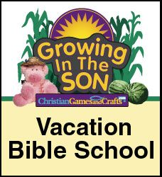 Childrens Bible Games, Crafts and Lessons