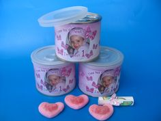 Personalised tin cans are useful and pretty. From small business owners to industry Giants, companies in South Africa simply love our personalised tin cans! Tin Cans, Girl Shower, Shower Gifts, Canning, Baby, Baby Shower Gifts, Home Canning, Infants, Baby Humor
