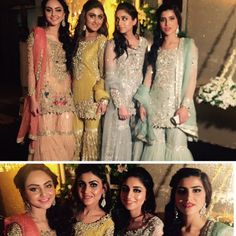 Gorgeous ladies in @theivyofficial @aniqawaqar96 @anzaashar @aizaalvi95 @anushammar Qawali night #noozain