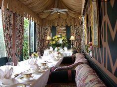 Breakfast room from the Inn at Little Washington, Virginia