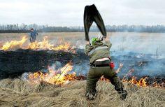 15 человек погибло в результате пожара в Хакасии