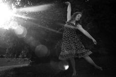 Dance Portrait at sunset: Strawberry Snails Photography: Pittsburgh Senior Portrait Photographer