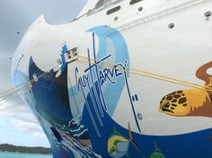 A floating canvas #GuyHarvey #NCL-Escape