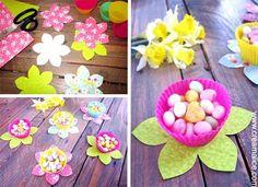 ¨°o.O Déco. de table de Pâques / DIY Easter Table Déco. O.o°¨ Voici une idée toute simple pour...