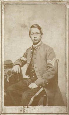 Military experts and scholars estimate that at least 50 Chinese men were soldiers and sailors in the Union forces. Some were even in the Confederate forces. For example, there was one man from Gloucester, Mass. who was in the 23rd Massachusetts Infantry and participated in several battles. Another one from Connecticut was in the Battle of Gettysburg.