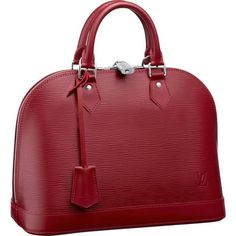 Louis Vuitton Epi Leather Alma M4030M Aya omg I'm not into red but I think I just fell in love ❤