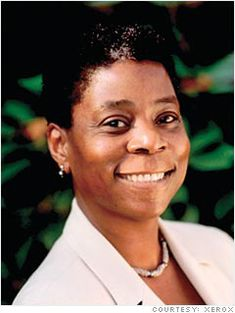 Ursula Burns - The President and CEO of Xerox has an inspiring rags-to-riches story.  She grew up in the housing projects of New York City in a single mother household.  She started at Xerox as a college intern and has worked her way all the way to the top.  She is the first African-American woman to lead a Fortune 500 company.