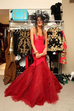 Vogue Japan's very own fashion director at large, Anna Dello Russo from Italy [Fashion's Night Out]