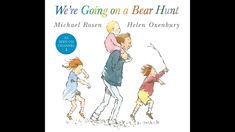 We're Going on a Bear Hunt - Read-Along - Narration and Music by Ollie H...