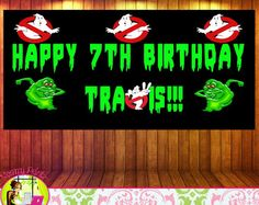 Ghostbusters Party Invitations & Decor di SimplyEverydayMe