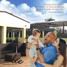Family time is not a matter of convenience but a matter of priority. #LeeBoutiqueHotel