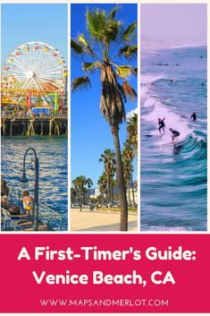 things to do in Venice Beach, California; weekend in Venice Beach, California; what to do in Venice Beach Venice Beach California, California Map, California Camping, Southern California, Usa Travel Guide, Travel Usa, Travel Tips, Travel Guides, Beach Travel