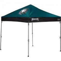 Philadelphia Eagles Coleman 10 'x 10' Straight Leg Canopy Tent from TailgateGiant.com