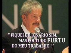Lula disse aos corruptos - Estamos juntos